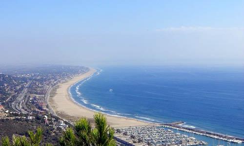 vista del Baix Llobregat